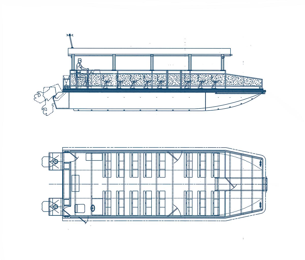 Olympia passenger boat SeaArk Marine